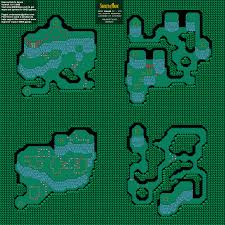 secret map of mana haunted forest before nintendo snes background map