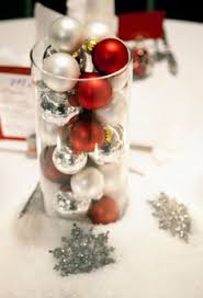 Christmas Wedding Centerpieces Ideas by Centerpiece Made With A Hurricane Globe Used In Our Wedding And