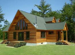 cabin style homes cabin style modular homes with green roof top home interior