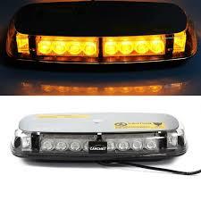 magnetic base strobe light carchet car vehicle roof light 24 led emergency warning strobe light