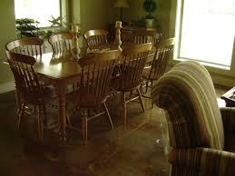 Dining Room Floor Elegant Acid Stained Concrete Floors Direct Colors Inc