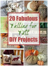 Homemade Fall Decor - 20 fab diy fall decor projects the happy housie