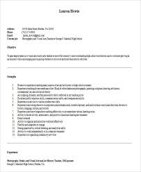 Art Teacher Resume Template 26 Best Teacher Resumes Free U0026 Premium Templates
