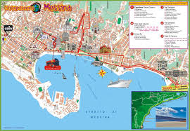 Map Of Italy And Sicily by Messina Maps Italy Maps Of Messina