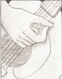 guitar drawing by vegetariansquishy on deviantart
