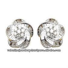 diamond earrings designs 2015 earring design flower design diamond earring fancy
