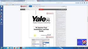yale pc service tool v4 88 youtube