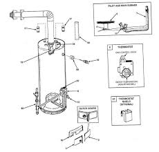 diagram of an electric water heater electric heat pump water