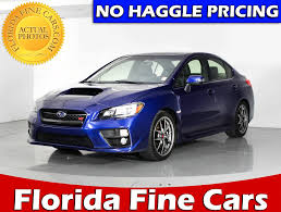 subaru sti 2016 used subaru wrx sti sedan for sale in miami hollywood west palm