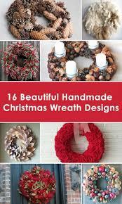 70 best handmade christmas wreaths 2015 2016 images on pinterest