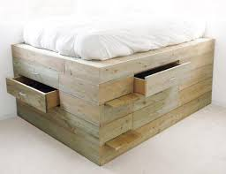 How To Build A Platform Bed With Storage Drawers by Low Design Office