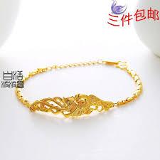 ladies bracelet gold jewelry images Phoenix gold female gold bracelet national wind jewelry classic jpg