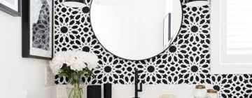 Wallpaper Bathroom Ideas Wallpaper Bathroom Archives Trendecor Co