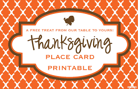 thanksgiving postcard template