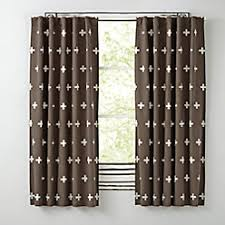go lightly grey triangle blackout curtains the land of nod