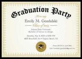 college graduation announcements templates college graduation party invitations college graduation party