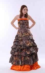 camo and orange wedding dresses stunning top band a line camo dresses with ups great sale