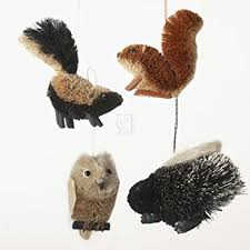 kurt adler buri woodland animal ornaments 4