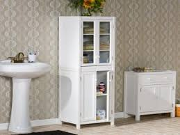 bathroom cabinets white bathroom storage cabinet tall white