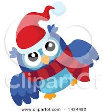 royalty free rf christmas owl clipart illustrations vector