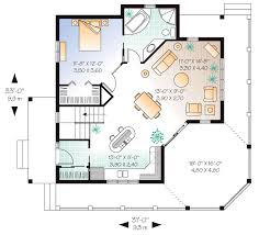 Victorian Home Floor Plan First Floor Plan Of Cottage Country Victorian House Plan 65566
