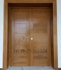 porte en bois de chambre cuisine portes en bois nobles meubles et dã coration tunisie les