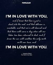 The Best Of The Quot - love quotes for her augustus waters the fault in our stars