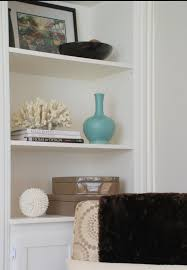 how to style built in shelving interior design and decorating by