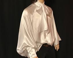 mens banded collar silk dress shirt western s m l xl xxl