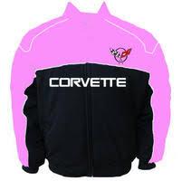 corvette racing jacket race car jackets corvette c5 racing jacket light pink and black