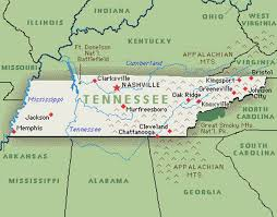 State Map Of Tennessee by Tennessee U0027s Four Largest Dailies Agree To Share News Content