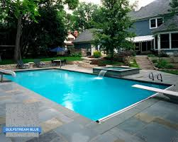 House Color Images by Hydrazzo Gulfstream Blue Makes This Pool Very Inviting While