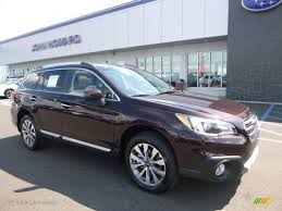 subaru outback 2017 interior 2017 brilliant brown pearl subaru outback 3 6r touring 115805120