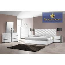 Lacquer Bedroom Set by Showroom Quality Furniture At Warehouse Prices Seville White