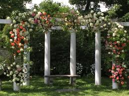wedding arches outdoor traditional garden wedding arches wisteria flowers and gifts