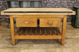 vintage kitchen work table antiques atlas vintage kitchen island work bench table