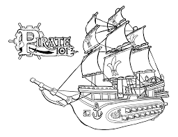 pirate ship coloring page cooloring coloring page pirate ship in
