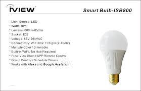 incandescent light bulb specifications isb800 smart bulb affordable 9w multi color led wifi light bulb