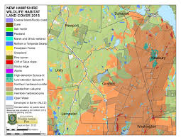 Nh Map 2015 Nh Wildlife Action Plan Provides New Data And Maps Friends