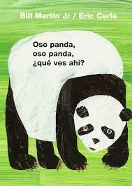 amazon com oso panda oso panda qué ves ahí brown bear and