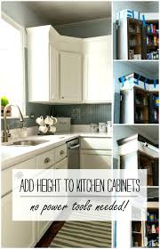 Kitchen Cabinet Height Above Counter Kitchen Cabinets Heights U2013 Sabremedia Co