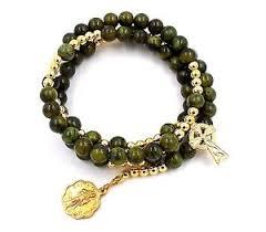 connemara marble rosary connemara marble rosary coil bracelet by j c walsh sons