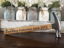 wood anniversary gifts 5th anniversary gift for him building a together hammer