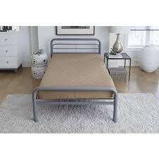 dhp 3112398 quilted bunk bed mattress twin tan off white ebay