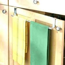kitchen cabinet towel rack kitchen cabinet towel holder coryc me