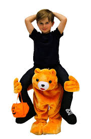 Panda Bear Halloween Costume Amazon Costume Agent Men U0027s Piggyback Bear Ride Costume