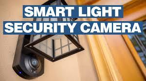 kuna outdoor smart home light security camera youtube