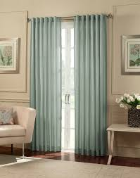Blue Silk Curtains Furniture Blue Cooper Stripe Faux Silk Curtain Panels For
