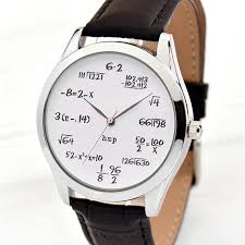 cool graduation gifts math gifts math gift watches for men