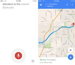 How To Change Google Maps Voice How To Use Google Maps With Your Voice On Iphone